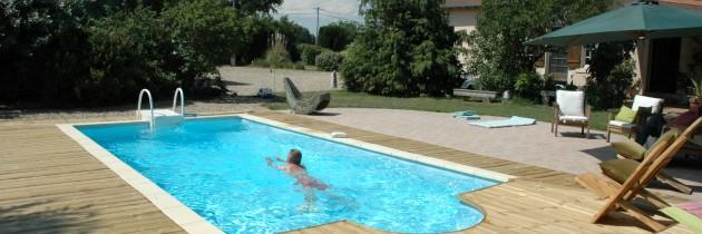 gite de charme piscine