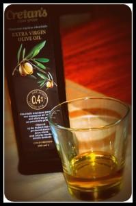 Huile d'olive crétoise 0.4% acidité