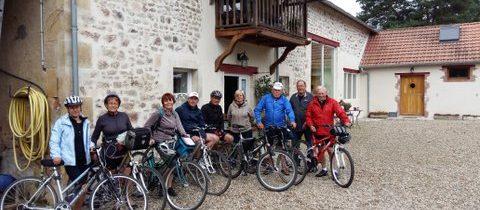 cyclo touristes Grange Floriejean